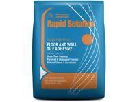 Rapid setaflex tile adhesive 20kg RRP £13.99