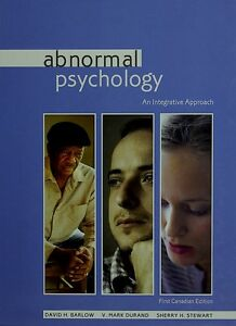ABNORMAL PSYCHOLOGY: An Integrative Approach W/CD (1st Can Ed)