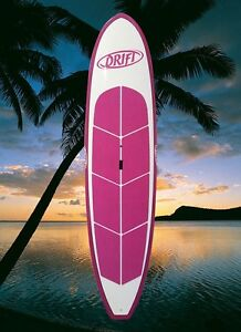 10ft Pink Frangipani Stand up paddleboard + bag + leash + paddle West Gosford Gosford Area Preview