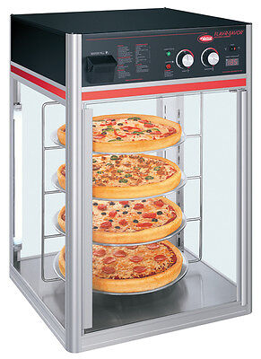 Hatco Fsdt-1-120-qs 1 Door Revolving Pizza Display Cabinet W 4 Tier Circle Rack