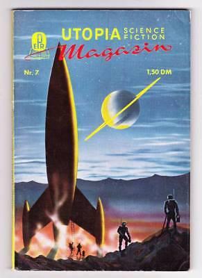 1956 German UTOPIA SCIENCE FICTION #7 - Morris Scott Dollens, Forrest J Ackerman