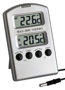 min max thermometer sigma tfa cable probe 3 metre liquid thermometer. Black Bedroom Furniture Sets. Home Design Ideas