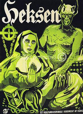 Haxan Vintage Movie 11x17 Poster