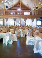 Wedding linens and decor