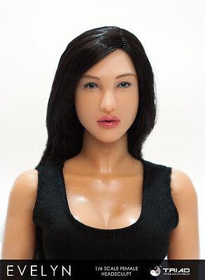 Triad Toys Evelyn Female Headsculpt 1 6Th Sixth Scale