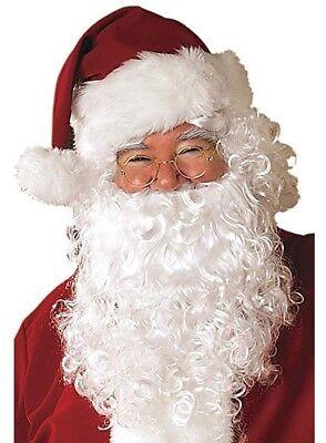 Rubie's Men's Value Santa Beard and Wig Set, White - Wig Set