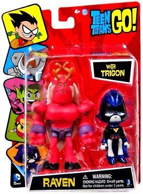 Teen Titans Raven Feet (Teen Titans Go! Raven with Trigon 3-Inch Mini Figure)