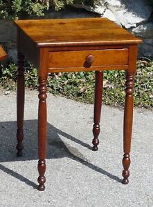 Antique Cherry Lamp Table or Bedside Table Kingston Kingston Area image 2