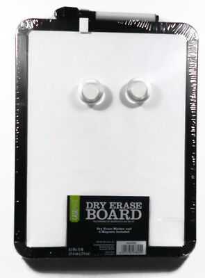 Casemate Dry Erase Board With Marker And Eraser 8.5 In X 11 In