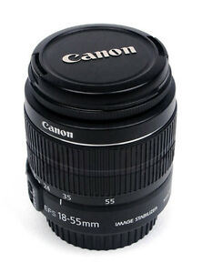 like new canon EF S 18 55 IS standard zoom lens