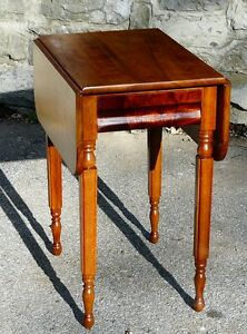 Antique Cherry Drop-leaf Table Kingston Kingston Area image 5