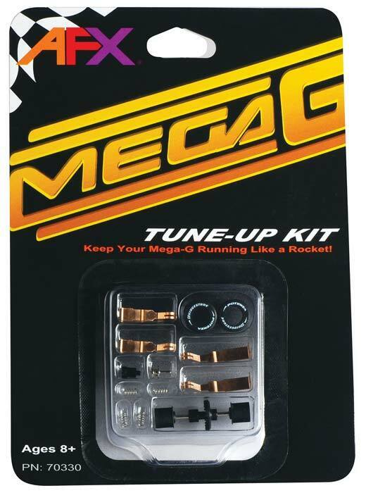 AFX 70330 Mega-G Tune Up Kit w/Long & Short Pick Up Shoes HO Slot Car