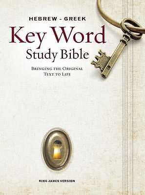 Key Word Study Bibles  Hebrew Greek Key Word Study Bible  2008 New Edition