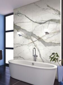 Marble Granite look Porcelain tiles available.