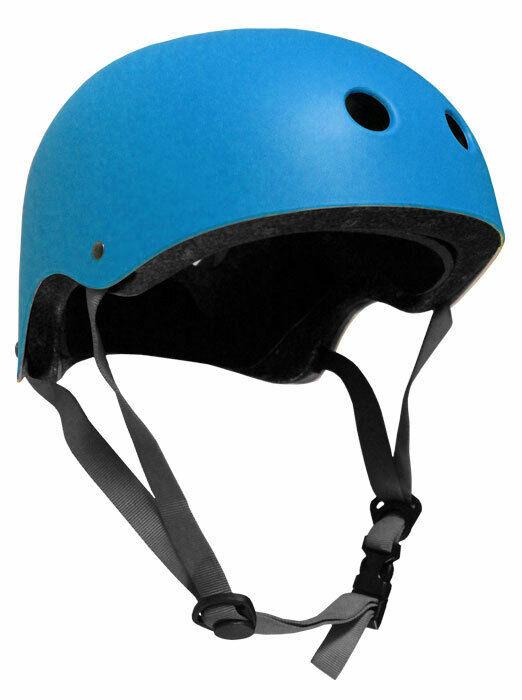 CPSC Skateboard Fitness Inline Helmet ADULT OSFA CYAN BLUE/GRAY