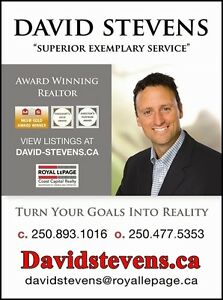 Thinking of Buying or Selling?  I can Help. DAVID STEVENS