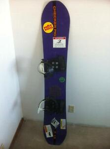 Checker Pig Snowboard - Rare, Vintage, Collectible (Purple)