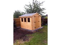 GARDEN SHEDS AND SUMMER HOUSE SALE NOIW ON