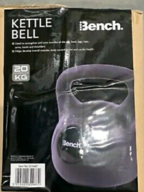 New and Sealed 20kg Kettlebell heavy weights