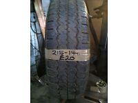 215-14C Hankook 112/110Q 6mm Part Worn Tyre