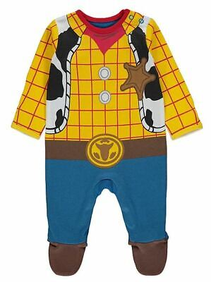 Baby In Costumes (BABY Boys George Disney Toy Story Woody All In One Fancy Dress Costume Book)