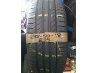 235-50-18 Continental CSC 5 97V Part Worn Tyre