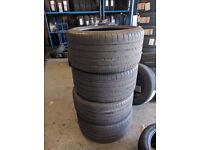 Set of Part Worn Michelin Tyres fit Porsche Panamera