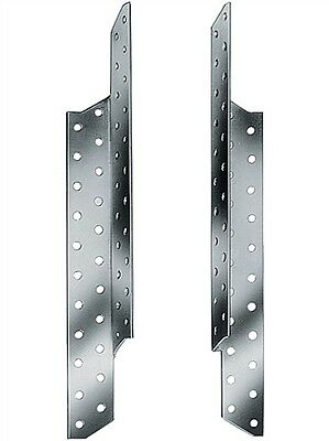 100 Stk= 50 Paar Sparrenpfettenanker 170 mm Pfettenanker,  50 x rechts 50x links