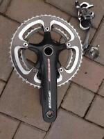 Carbon FSA CRANK SET
