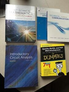 Textbooks for Computer Engineering Technology Year 1