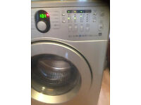 AS NEW SILVER WASHER 6KG 1400 SPIN FREE DELIVERY & INSTALLATION