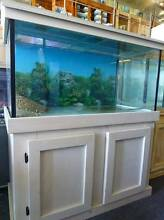 4x2x2 Fish Tank, Cabinet, Hood, Filter, Light All just 1 year old Meadowbrook Logan Area Preview