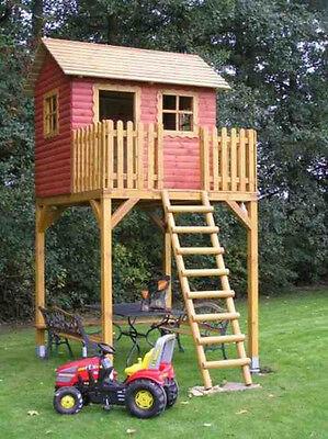 Stelzenhaus, Baumhaus Modell GOLIATH I, Spielturm, Kinderspielhaus
