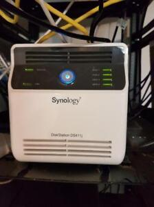 Synology 4-bay DS411j NAS - WITH DRIVES
