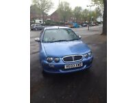 rover 25 2003 tax and 8 months mot