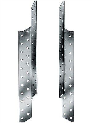50 Stk. = 25 Paar Sparrenpfettenanker 170 mm Pfettenanker 25 x rechts 25 x links