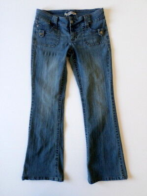 Low Rise Bootcut Womens Jeans - Hydraulic Womens Jeans 7/8 (30x31 measured) Low Rise Bootcut Stretch