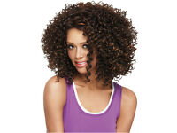 Wigs Fashion Women Party Sexy Short Wavy Curly Brown Mixed Synthetic Full Wig