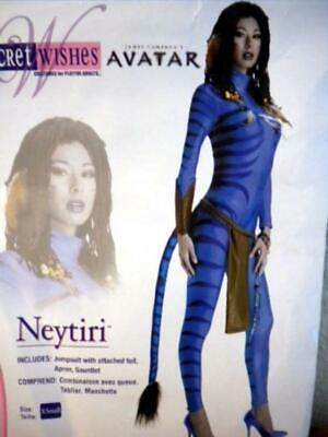 HALLOWEEN COSTUME - FANTASY OUTFIT - SIZE: XS 0-2 (Avatar-halloween)