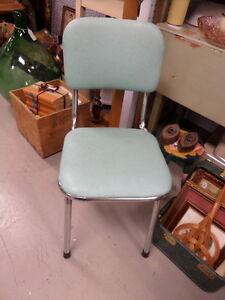 Vintage Chrome Kitchen Chairs - Blue Jar Antique Mall