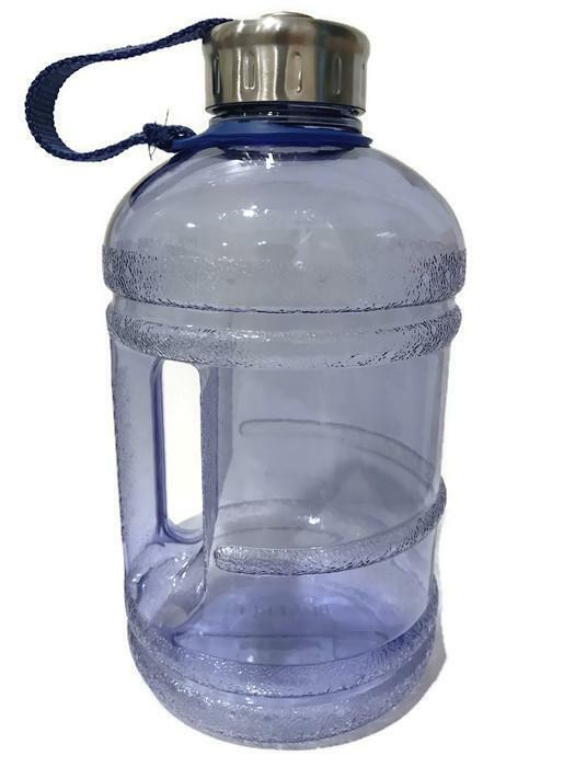 1/2 Gallon 64oz Color Stainless Steel Drinking Water Bottle