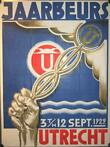 Henri Pieck (attributed) - Jaarbeurs Utrecht 1929 - poster (