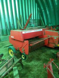 Series of Farm Equipment