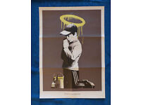 BANKSY - RARE ORIGINAL LIMITED EDITION POSTER WITH ENVELOPE - c2010 (DON'T PANIC SET)