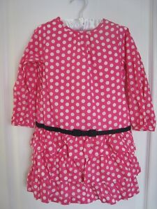 NWOT Gap polka dot tiered dress- 4 (twins)