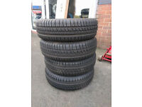 set of near new part-worn Cooper CS2 Tyres 165 70 14 81T