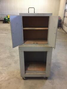 REDUCED - Homemade Cabinet on wheels