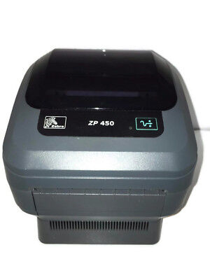 Used, Zebra ZP450 Thermal Shipping Label Barcode USB Parallel Printer UPS USPS FedEx  for sale  Shipping to South Africa