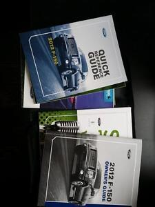2012 Ford F150 owners manuals