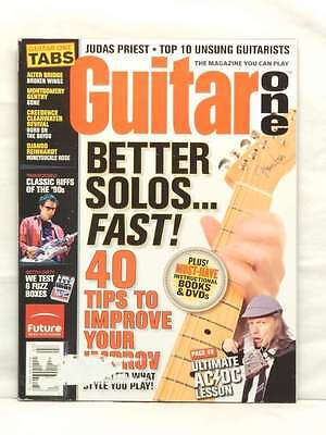 BETTER SOLOS FAST GUITAR ONE MAGAZINE ANGUS YOUNG AC/DC JUDAS PRIEST JULY